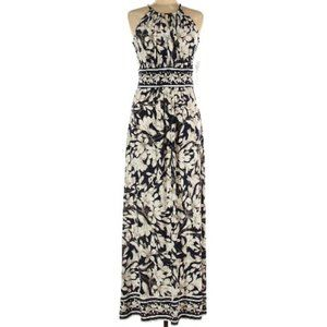 EUC London Times Keyhole Floral Maxi Dress – 12